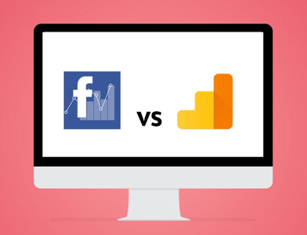 5 Gründe warum sich Facebook Ads und Google Analytics unterscheiden
