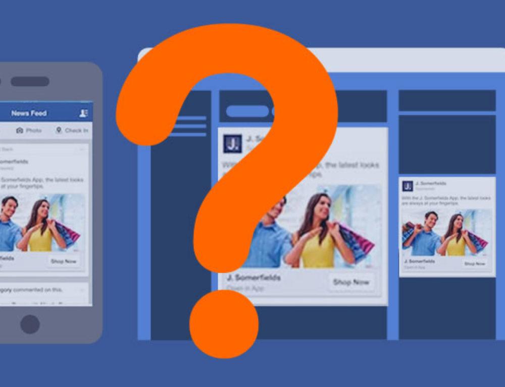 """""""Warum sehe ich diese Werbeanzeige?"""" Facebook erklärt warum."""