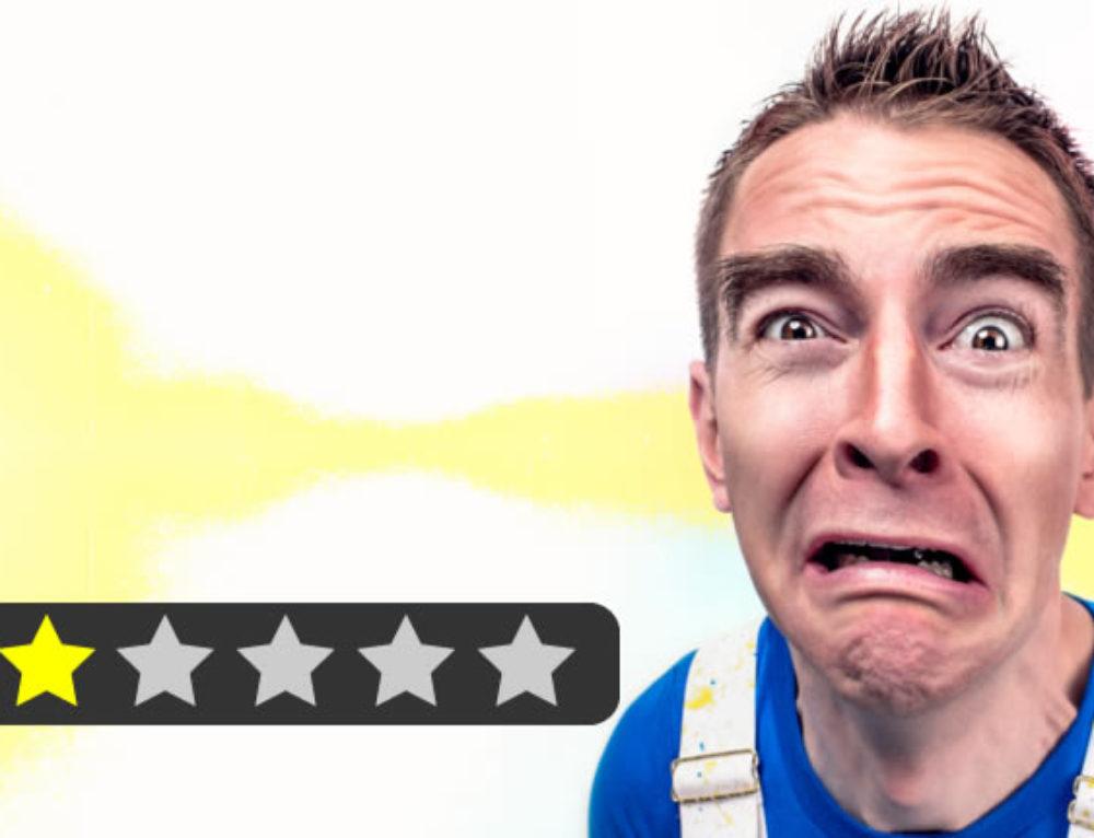 7 Tipps für den Umgang mit schlechten Bewertungen