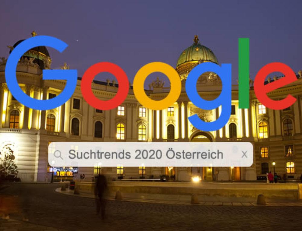 Google Jahresüberblick 2020: Das war 2020 angesagt in Österreich